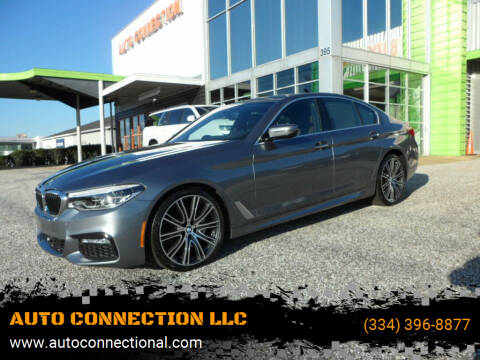 2018 BMW 5 Series for sale at AUTO CONNECTION LLC in Montgomery AL