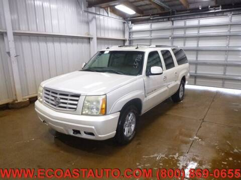 2003 Cadillac Escalade ESV for sale at East Coast Auto Source Inc. in Bedford VA