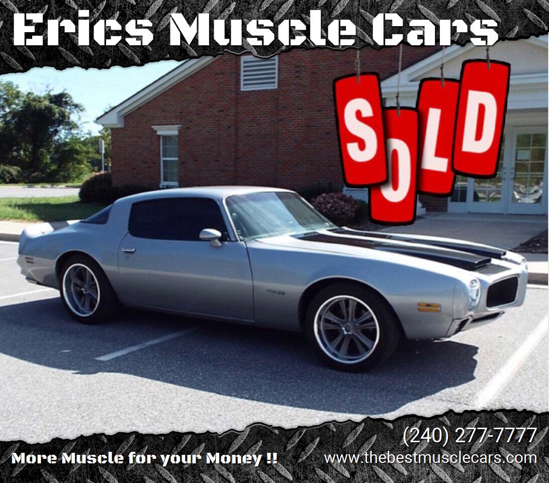 1976 Pontiac Firebird Formula SOLD SOLD SOLD