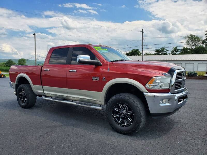 2010 Dodge Ram Pickup 3500 for sale at SOUTH MOUNTAIN AUTO SALES in Shippensburg PA