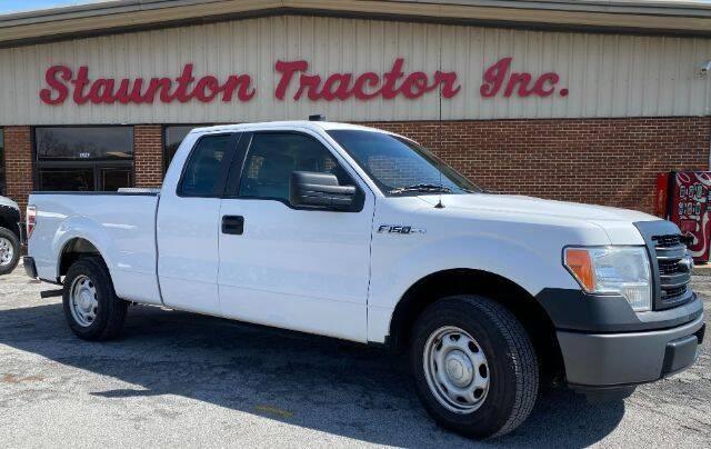 2014 Ford F-150 for sale at STAUNTON TRACTOR INC in Staunton VA