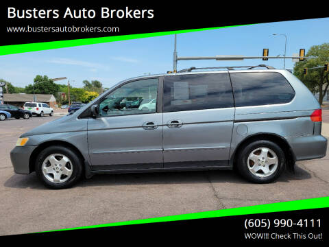 2001 Honda Odyssey for sale at Busters Auto Brokers in Mitchell SD