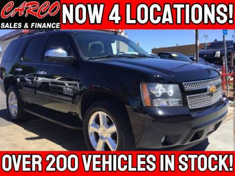 2014 Chevrolet Tahoe for sale at CARCO SALES & FINANCE in Chula Vista CA