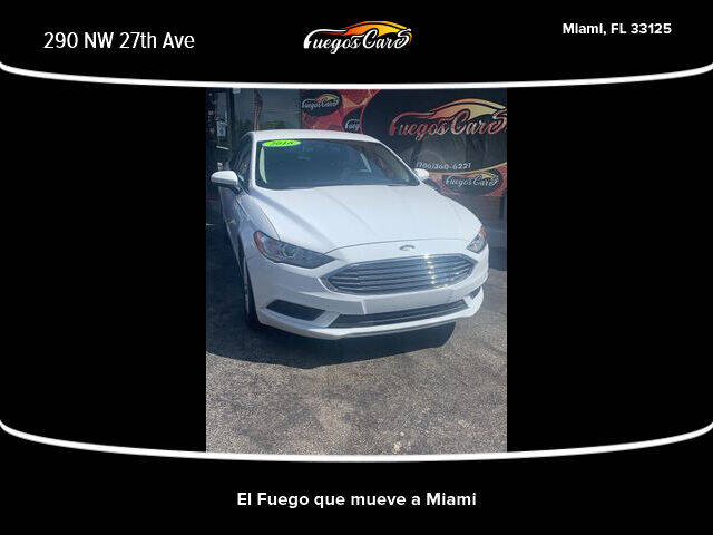 2018 Ford Fusion for sale at Fuego's Cars in Miami FL