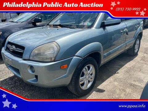 2006 Hyundai Tucson for sale at Philadelphia Public Auto Auction in Philadelphia PA