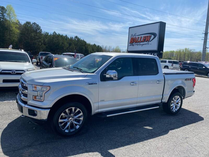 2015 Ford F-150 for sale at Billy Ballew Motorsports in Dawsonville GA
