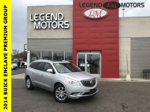 2014 Buick Enclave for sale at Legend Motors of Waterford - Legend Motors of Ferndale in Ferndale MI