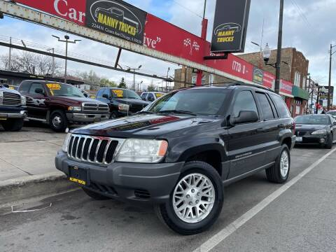 2001 Jeep Grand Cherokee for sale at Manny Trucks in Chicago IL
