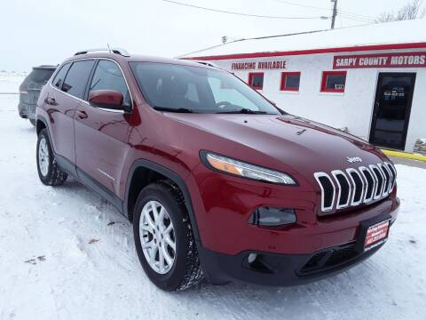 2014 Jeep Cherokee for sale at Sarpy County Motors in Springfield NE
