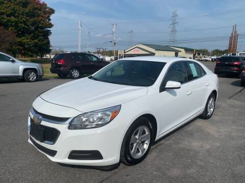 2014 Chevrolet Malibu for sale at Paul Hiltbrand Auto Sales LTD in Cicero NY