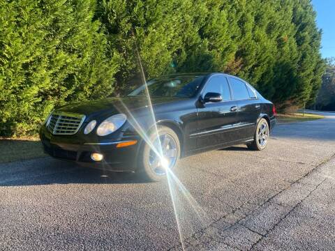 2007 Mercedes-Benz E-Class for sale at Front Porch Motors Inc. in Conyers GA