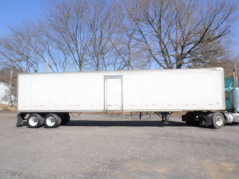 2008 Wabash International dry van for sale at Recovery Team USA in Slatington PA