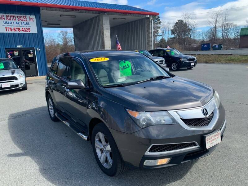 2011 Acura MDX for sale at Gia Auto Sales in East Wareham MA