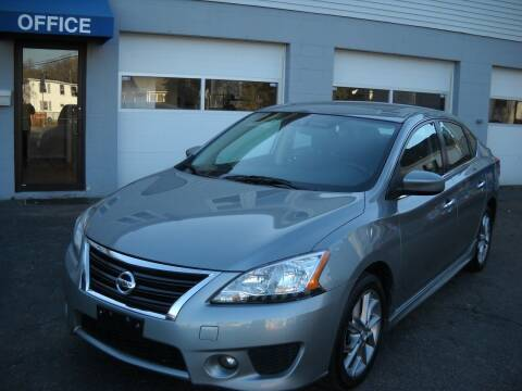 2013 Nissan Sentra for sale at Best Wheels Imports in Johnston RI