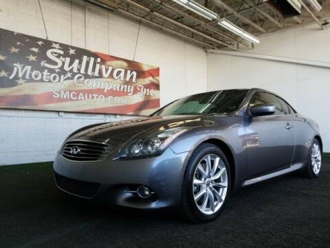 2012 Infiniti G37 Convertible for sale at SULLIVAN MOTOR COMPANY INC. in Mesa AZ