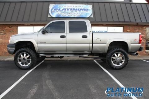2003 Chevrolet Silverado 2500HD for sale at Platinum Auto World in Fredericksburg VA