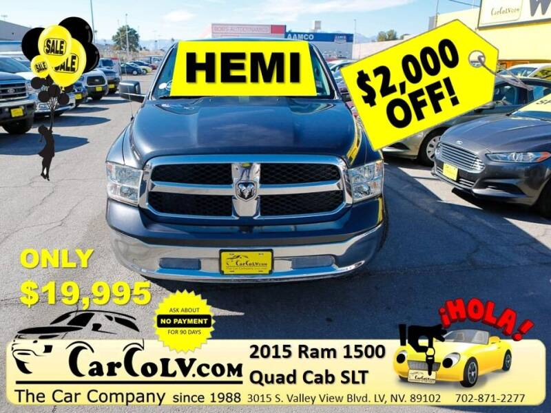 2015 RAM Ram Pickup 1500 for sale at The Car Company in Las Vegas NV