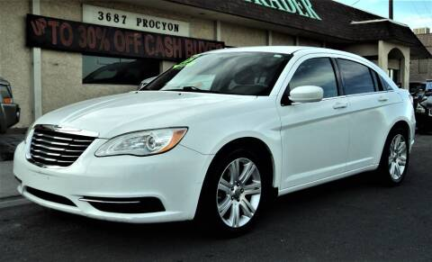 2013 Chrysler 200 for sale at DESERT AUTO TRADER in Las Vegas NV