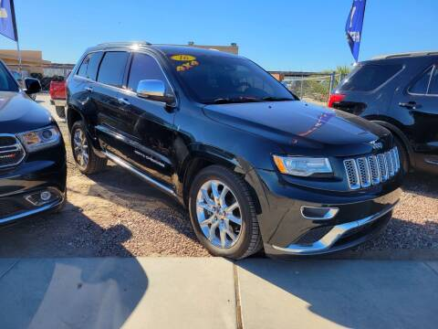 2016 Jeep Grand Cherokee for sale at A AND A AUTO SALES in Gadsden AZ