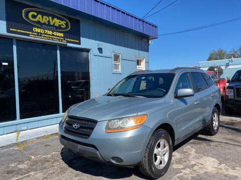 2008 Hyundai Santa Fe for sale at CAR VIPS ORLANDO LLC in Orlando FL