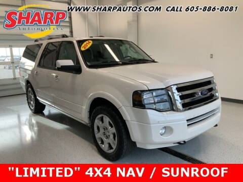 2014 Ford Expedition EL for sale at Sharp Automotive in Watertown SD