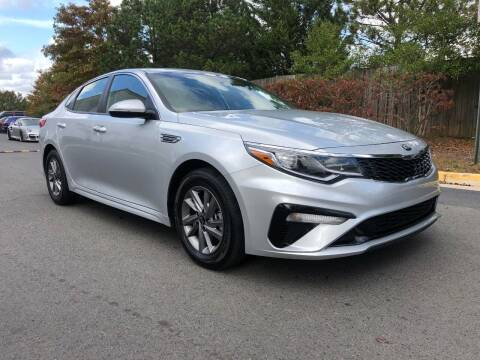 2020 Kia Optima for sale at Pleasant Auto Group in Chantilly VA
