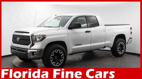 2019 Toyota Tundra for sale at Florida Fine Cars - West Palm Beach in West Palm Beach FL