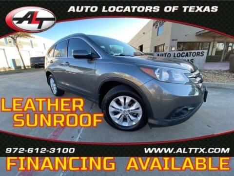 2013 Honda CR-V for sale at AUTO LOCATORS OF TEXAS in Plano TX