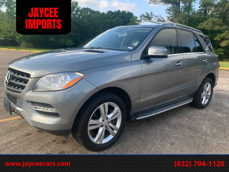 2013 Mercedes-Benz M-Class for sale at JAYCEE IMPORTS in Houston TX