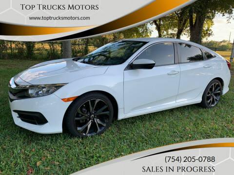 2017 Honda Civic for sale at Top Trucks Motors in Pompano Beach FL
