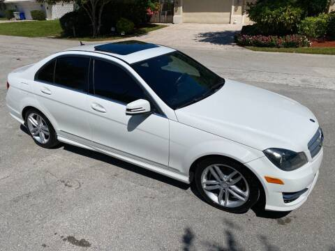 2013 Mercedes-Benz C-Class for sale at Exceed Auto Brokers in Lighthouse Point FL