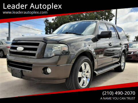 2008 Ford Expedition for sale at Leader Autoplex in San Antonio TX