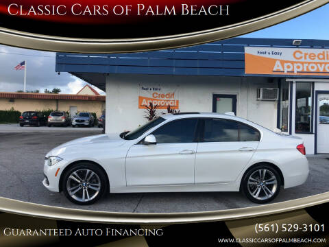 2017 BMW 3 Series for sale at Classic Cars of Palm Beach in Jupiter FL