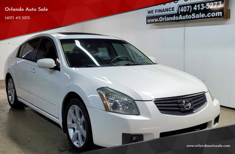 2008 Nissan Maxima for sale at Orlando Auto Sale in Orlando FL
