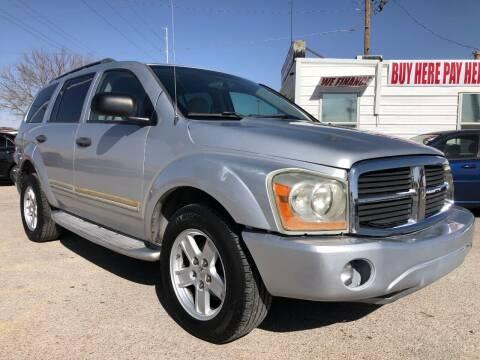 2005 Dodge Durango for sale at Eastside Auto Sales in El Paso TX