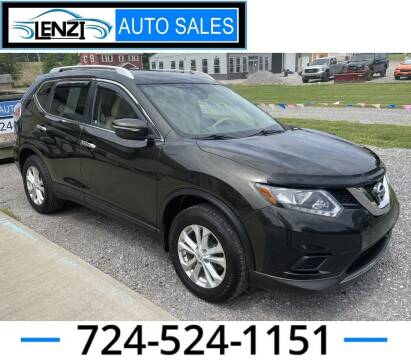 2015 Nissan Rogue for sale at LENZI AUTO SALES in Sarver PA