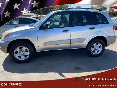 2003 Toyota RAV4 for sale at El Compadre Auto Plaza in Modesto CA