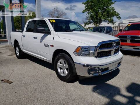 2018 RAM Ram Pickup 1500 for sale at GATOR'S IMPORT SUPERSTORE in Melbourne FL