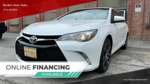 2016 Toyota Camry for sale at Rocky's Auto Sales in Worcester MA
