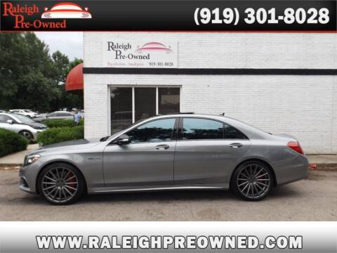 2015 Mercedes-Benz S-Class for sale at Raleigh Pre-Owned in Raleigh NC