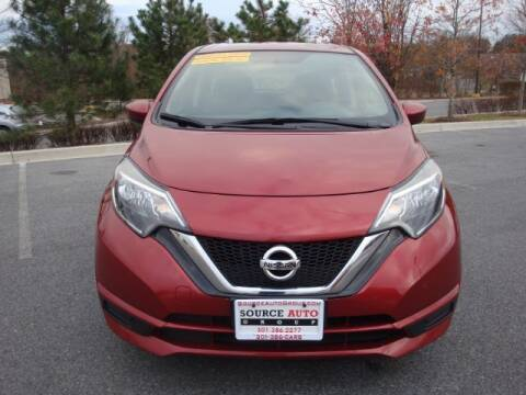 2018 Nissan Versa Note for sale at Source Auto Group in Lanham MD