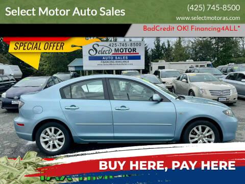 2008 Mazda MAZDA3 for sale at Select Motor Auto Sales in Lynnwood WA