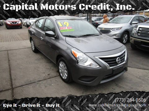 2019 Nissan Versa for sale at Capital Motors Credit, Inc. in Chicago IL