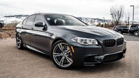2015 BMW M5 for sale at MUSCLE MOTORS AUTO SALES INC in Reno NV