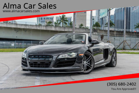 2011 Audi R8 for sale at Alma Car Sales in Miami FL