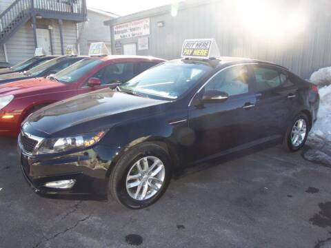 2012 Kia Optima for sale at Fulmer Auto Cycle Sales - Fulmer Auto Sales in Easton PA