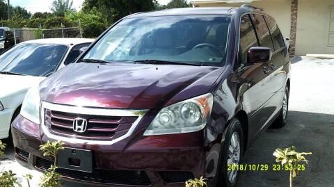 2010 Honda Odyssey for sale at LAND & SEA BROKERS INC in Deerfield FL