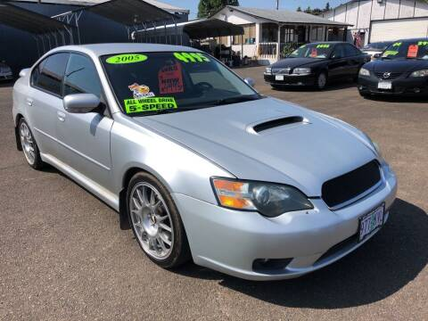 2005 Subaru Legacy for sale at Freeborn Motors in Lafayette, OR