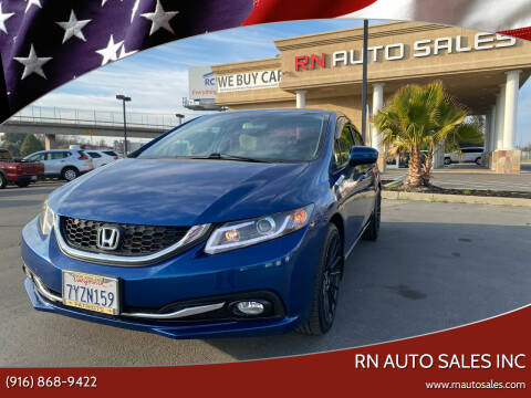 2014 Honda Civic for sale at RN Auto Sales Inc in Sacramento CA