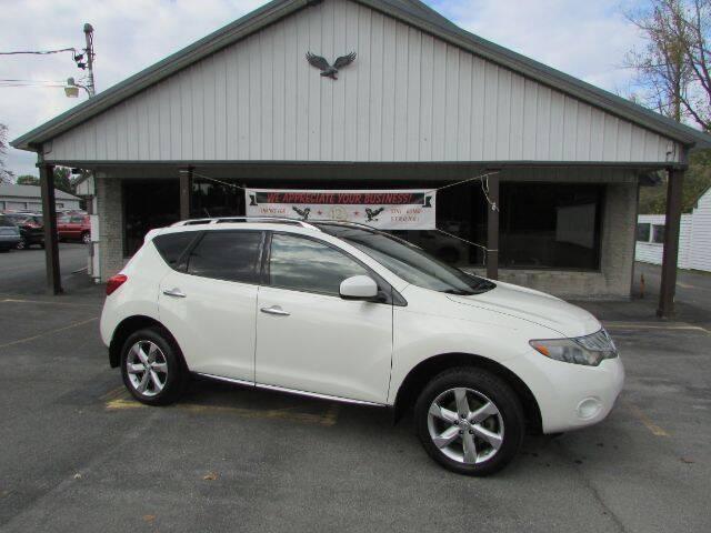 2009 Nissan Murano for sale at Eagle Auto Center in Seneca Falls NY